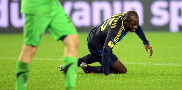 Bienvenu gol atmak bir yana, penaltı yaptırdı