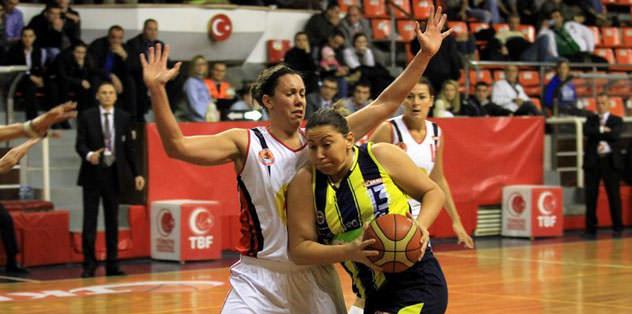 Dişi Kanarya, Samsun Basket'e acımadı: 78-55
