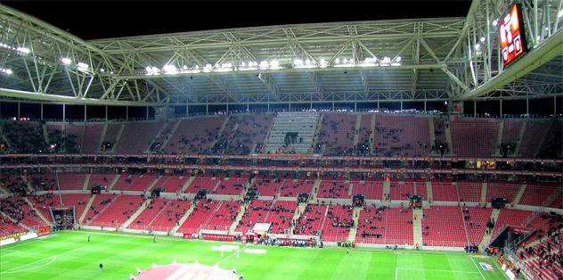 Arena'nın çatısını Bosch yapacak!