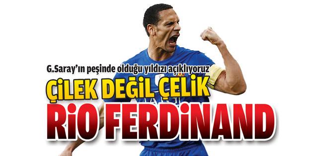 Çilek değil çelik Rio Ferdinand