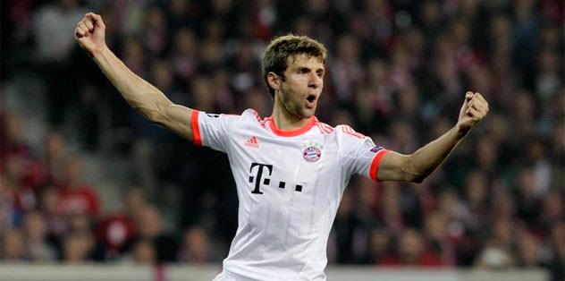 Müller 2017'ye kadar Bayern'de
