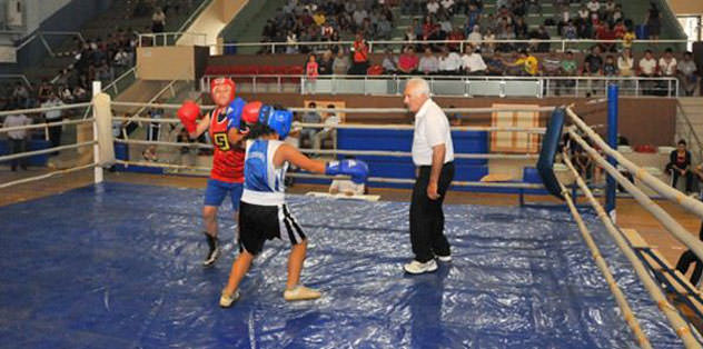 Kick boks heyecanı