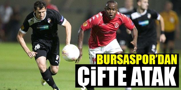 Bursaspor'dan çifte atak