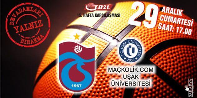 Basketbolda rakip Uşak