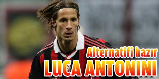 Alternatifi hazır Luca Antonini
