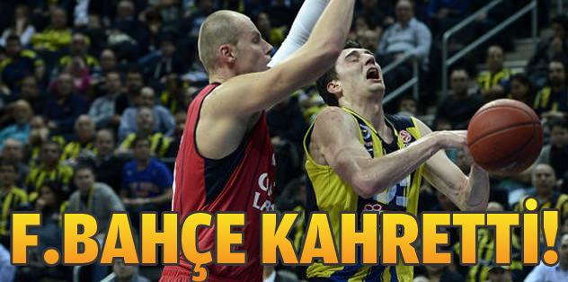Fenerbahçe Ülker kahretti!