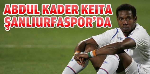 Abdul Kader Keita Şanlıurfaspor'da