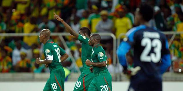 Burkina Faso farka koştu!