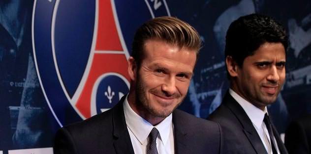 David Beckham PSG'de