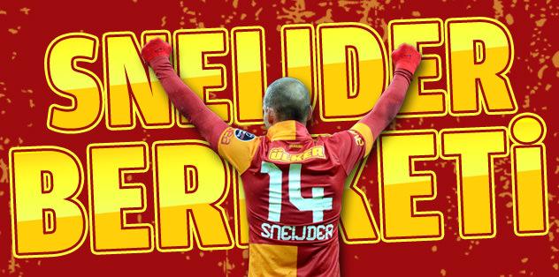 Sneijder kapış kapış