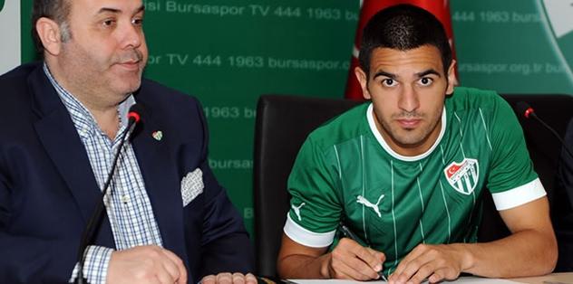 Bursasporlu oyuncu Türk vatandaşı oldu