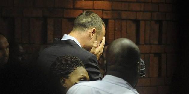 Pistorius'un gözyaşları