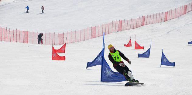 Snowboard Türkiye Şampiyonası başladı