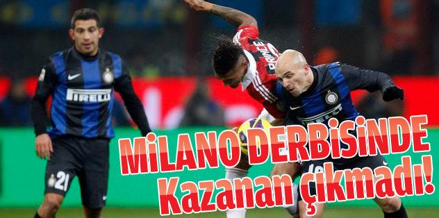 Milano derbisinde kazanan çıkmadı