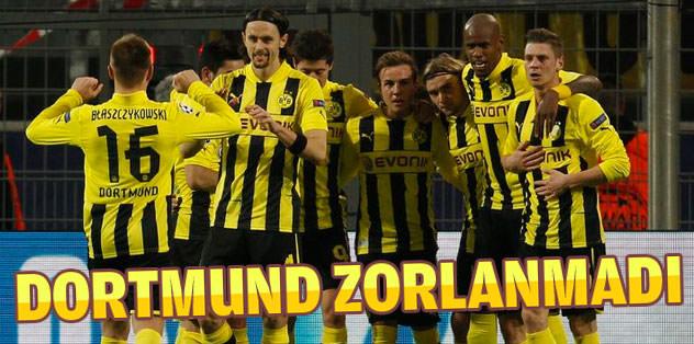 Dortmund Shaktar'ı rahat geçti