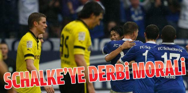 Derbiyi  Schalke 04 kazandı!