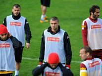 Galatasaray taktik �al��t�