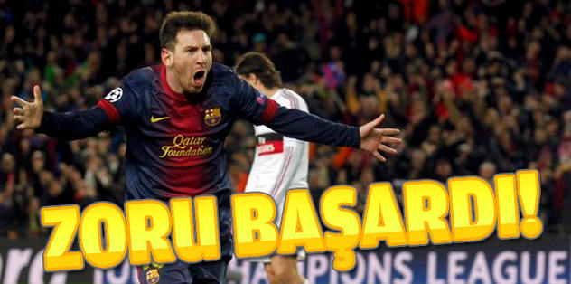 Barça zoru başardı!