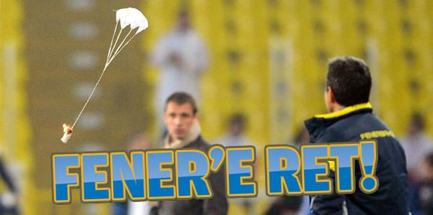 UEFA'dan Fener'e ret