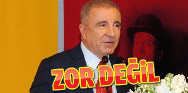 Galatasaray için zor değil