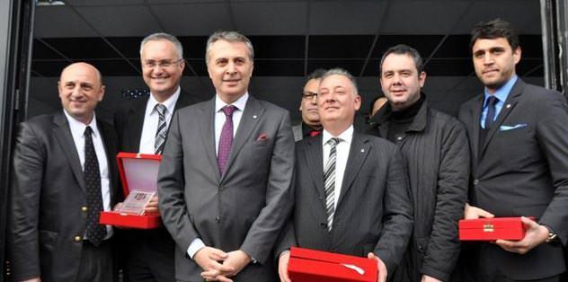 Beşiktaş'a yeni salon
