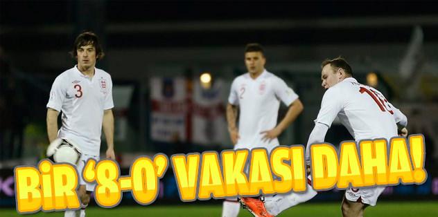İngiltere, San Marino'yu 8-0 mağlup etti!