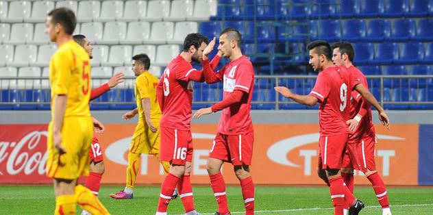 Ümit Milliler, Makedonya'ya 5 attı!