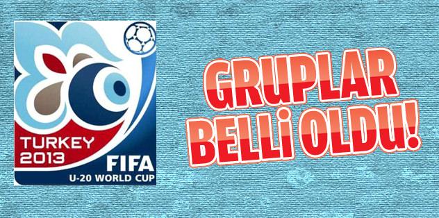 Türkiye'nin FIFA U-20 Dünya Kupas�'ndaki grubu belli oldu!