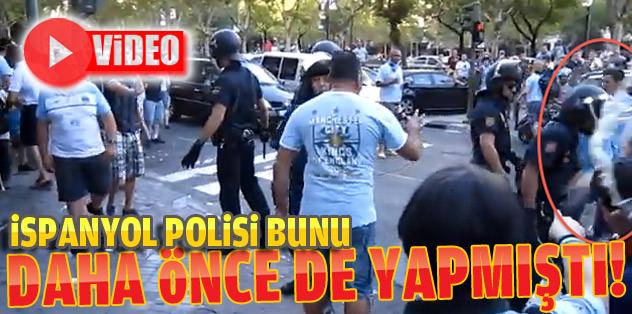 İspanyol polisi Man. City taraftarlarına saldırmıştı