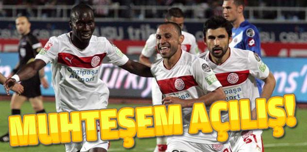 Antalya'da gol düellosu!