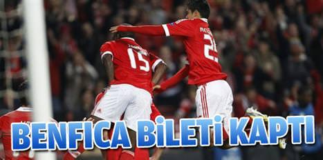 Benfica yarı final biletini kaptı