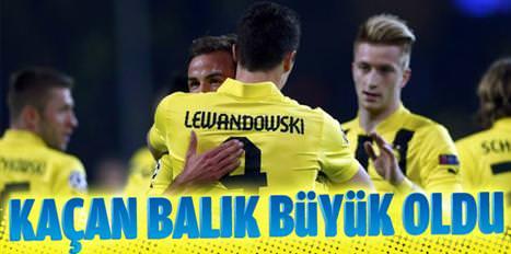 Lewandowski nasıl kaçtı?