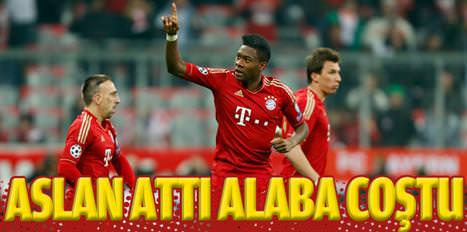 Alaba'dan Galatasaray tweeti