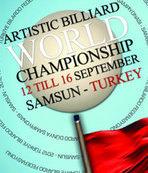 Artistik Bilardo Dünya Şampiyonası başladı