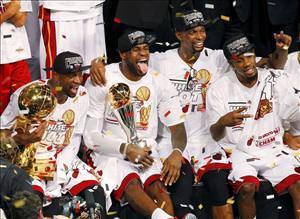 Miami Heatin şampiyonluk kareleri
