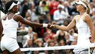 Williams-Sharapova maçından özel görüntüler
