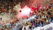 Trabzonspor taraftarından 61. dakika şovu