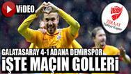 Galatasaray 4-1 Adana Demirspor