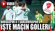 Bursaspor 4-1 �anl�urfaspor