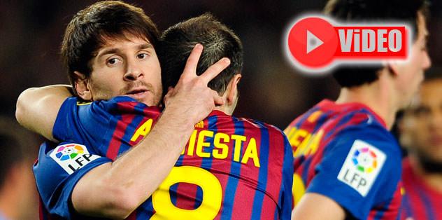 """Malaga'yı """"Barça""""ladılar"""