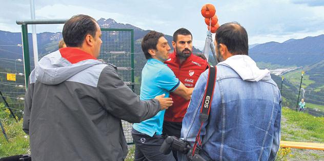 Volkan Demirel gazetecilere patlad�