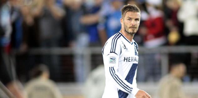 37'lik Beckham'dan derslik frikik