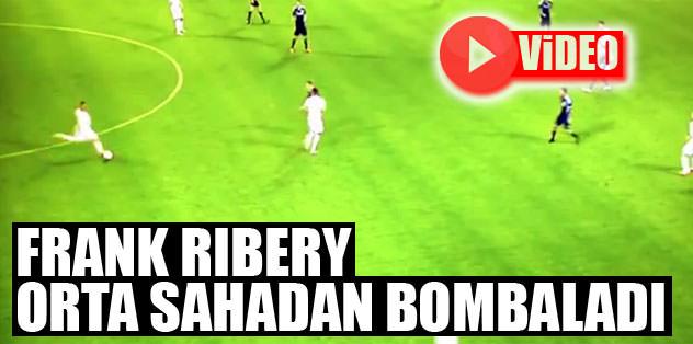 Ribery orta sahadan bombaladı