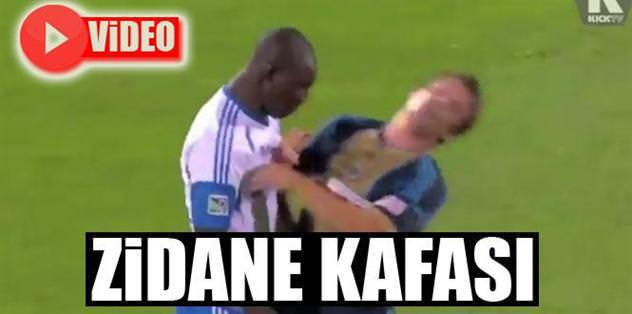 """Rivas'tan """"Zidane kafası"""""""