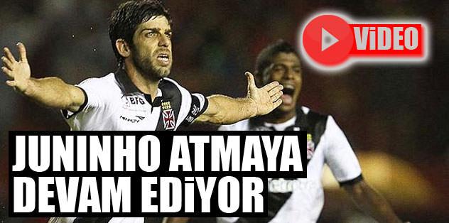 Juninho atmaya devam ediyor!