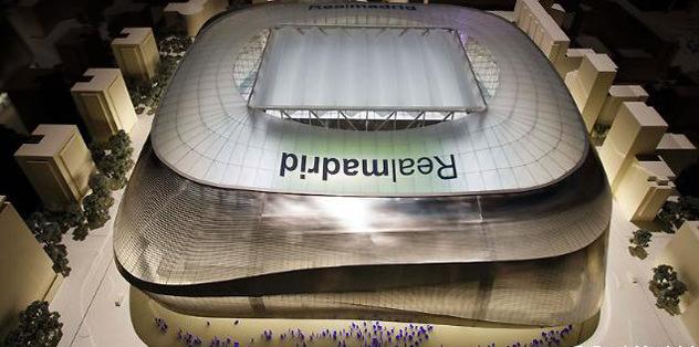 İşte yeni Bernabeu Stadı