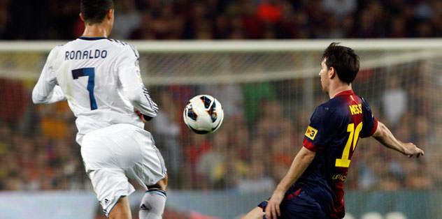 Messi: 2 Ronaldo: 2
