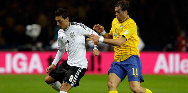 Almanya - İsveç maçında gol şov!