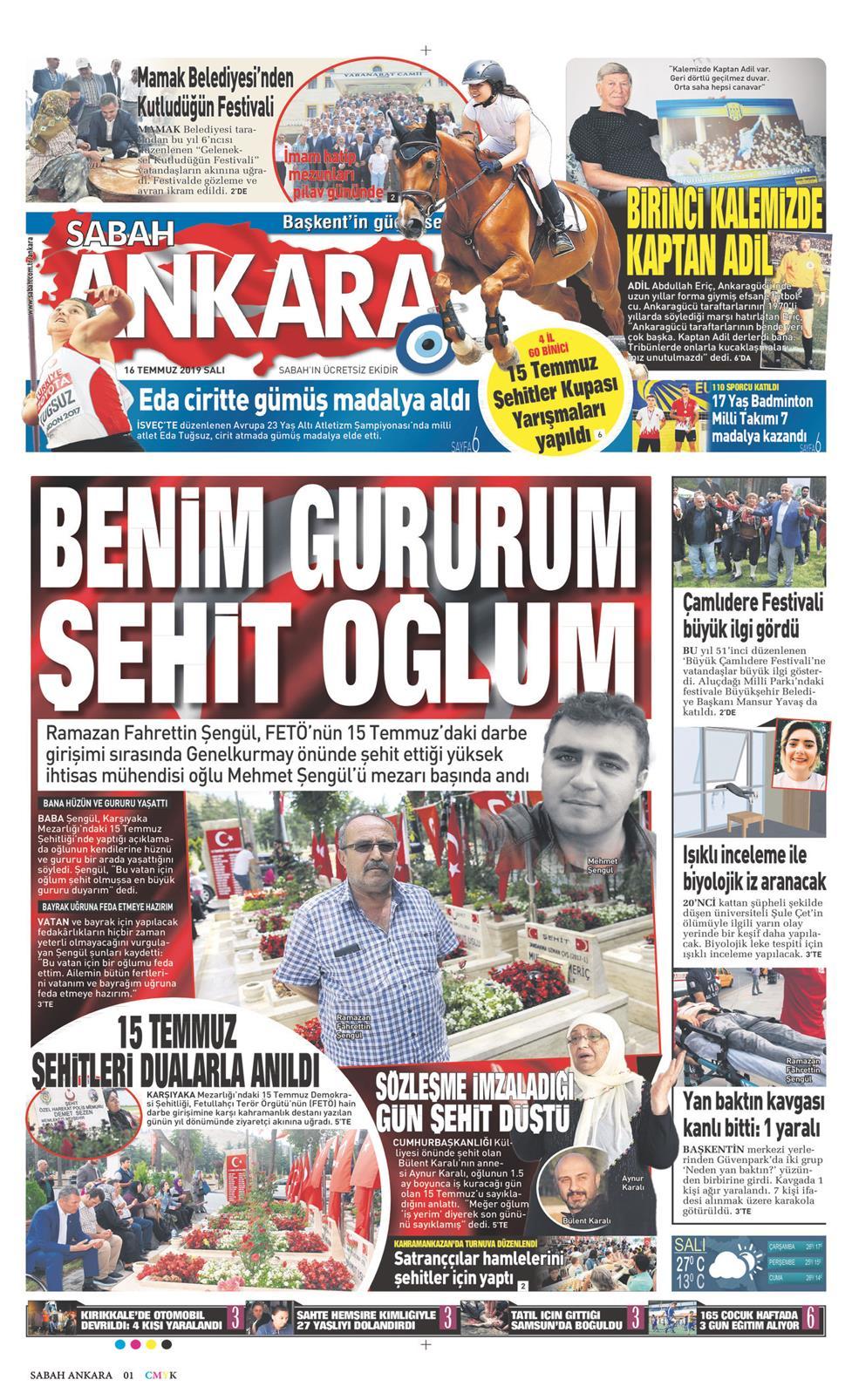 Sabah Ankara