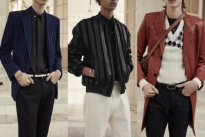 Saint Laurent Sonbahar 2021 Erkek Giyim Koleksiyonu